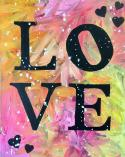 The image for Love - Paint your favorite colors!